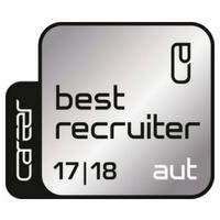 Zertifikat: Best Recruiter, 2017/18 (Silber)
