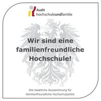 Zertifikat: Audit hochschuleundfamilie