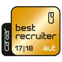 Zertifikat: Best Recruiter 2017/18, AUT (Gold)