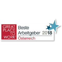 "Zertifikat: ""Great Place To Work 2018"""