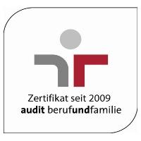 Zertifikat: Audit berufundfamilie (seit 2009)