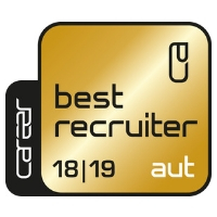 Zertifikat: Best Recruiter 2018/19, AUT (Gold)