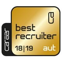 Zertifikat: Best Recruiter 2018/19, AUT (Gold)
