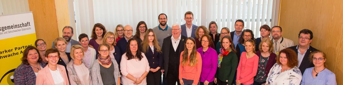 Hilfsgemeinschaft der Blinden und Sehschwachen Österreichs cover