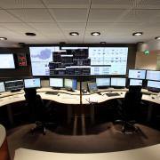 Dispatching-Center von Verbund